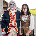 The Haunted Fortress 2016 at Old Fort Niagara.