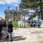 Rush Bagot Memorial Rededication, April 28, 2017 at Old Fort Niagara.