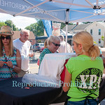 The Wine and Art Festival August 6, 2016 in Wilson, NY.